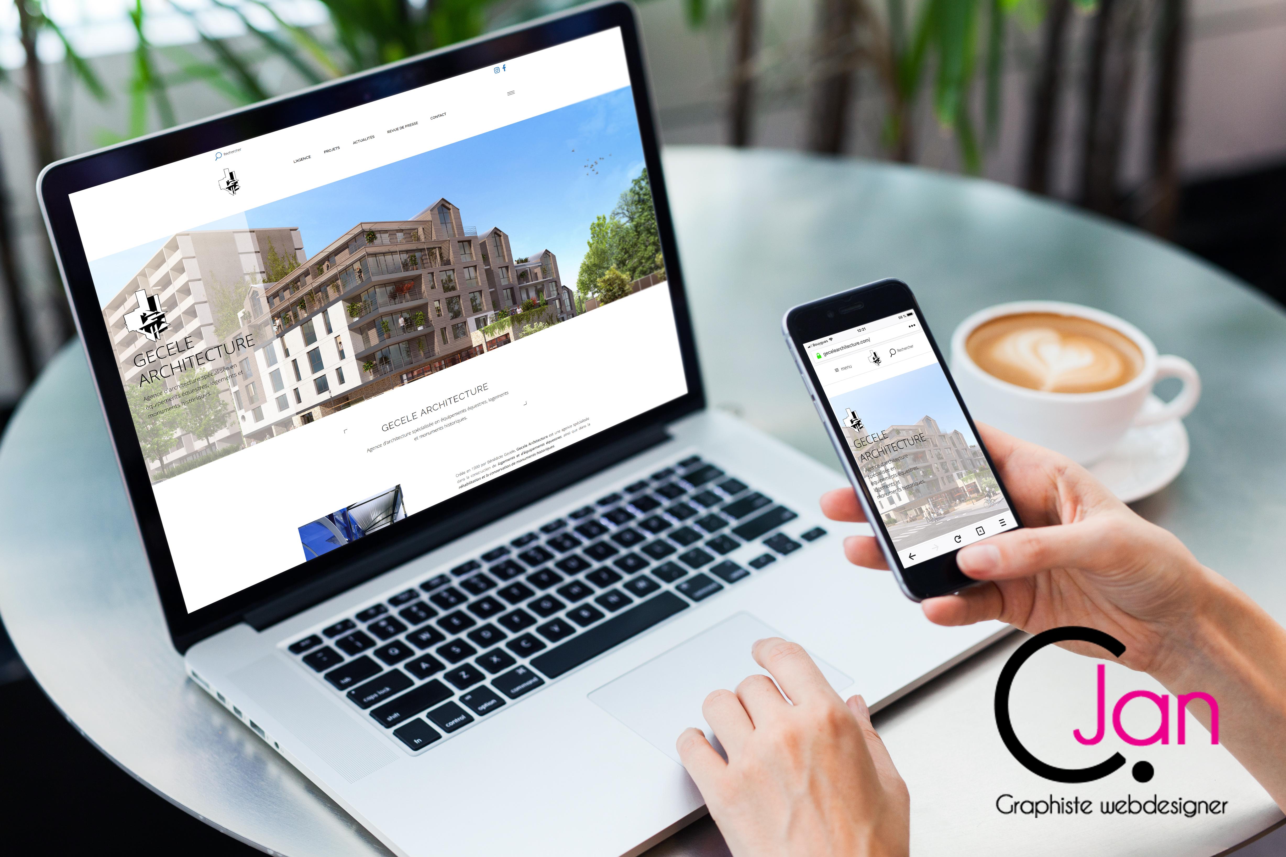 site internet Lorient Ploemeur Caroline Jan