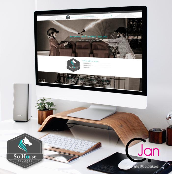 so horse sellerie caroline jan site e-commerce
