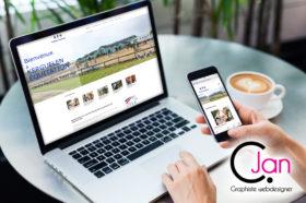 kerguelen équitation réalisation site internet Ploemeur